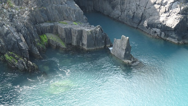 Free ireland lagoon cliffs water kerry ring