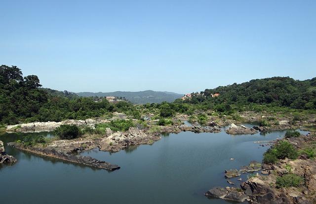Free river river bed sharavati jog falls western ghats