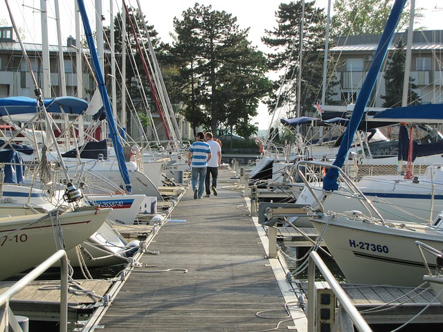 Free port lake balaton ship yacht sailing sailing boat