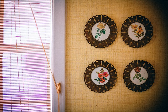 Free wall decoration plates window window blinds blinds
