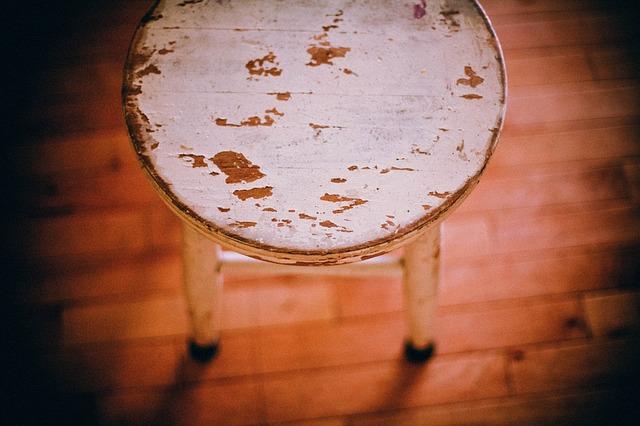Free footstool stool chair furniture seat sit