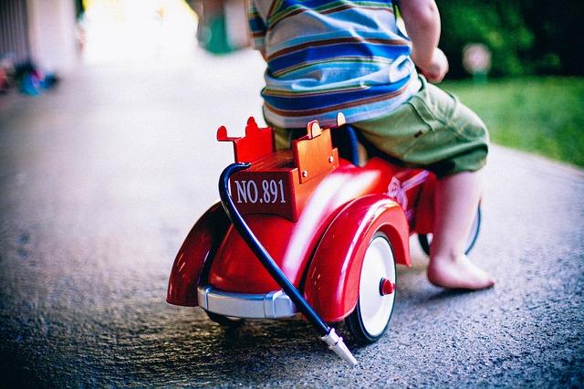 Free bobby-car toy car toy playing child boy play kid