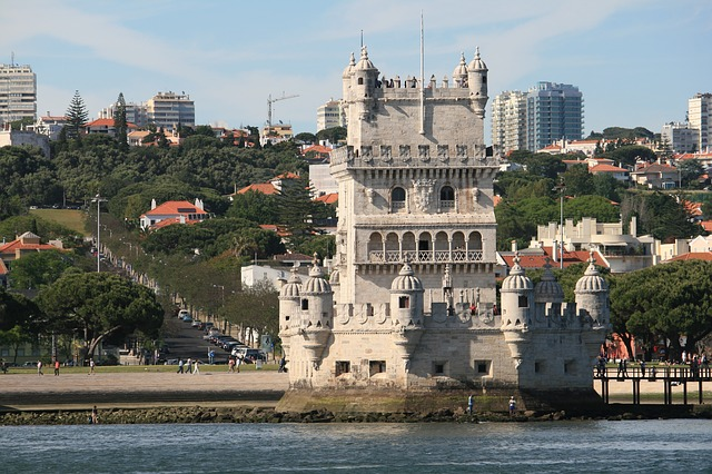 Free belém tower lisbon portugal