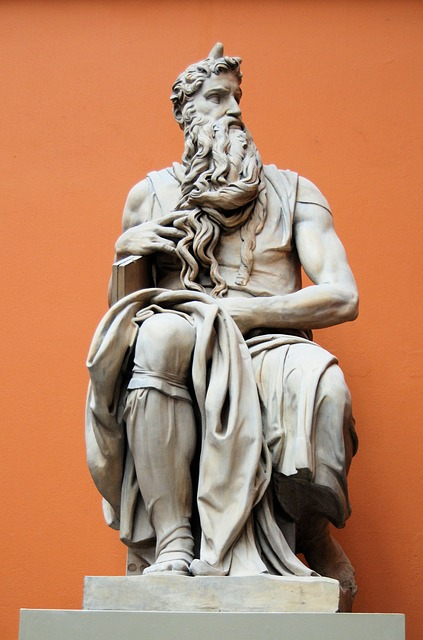 Free statue sculpture museum london moses