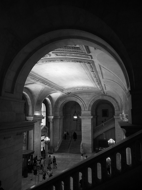 Free nyc public library library architecture