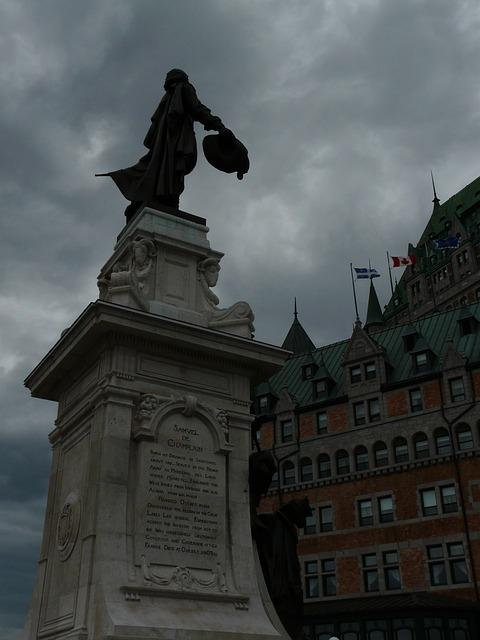 Free samuel de champlain quebec city 1608 history