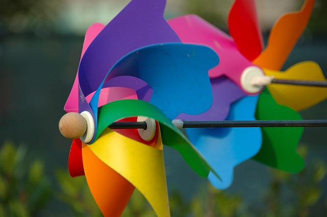 Free colorful pinwheels pinwheel colors wind
