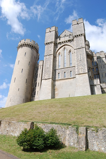 Free castle tower historical arundal landmark