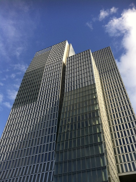 Free skyscraper frankfurt architecture building home
