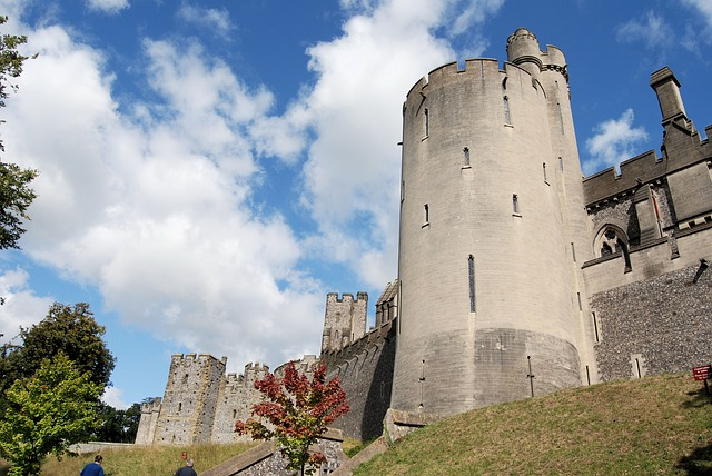 Free arundal castle tower historical landmark medieval