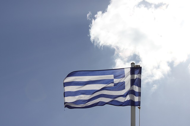 Free greece flag holiday travel