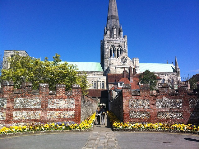 Free chichester city cathedral buildings architecture