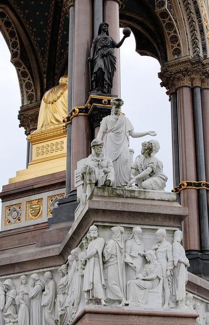 Free albert memorial kensington gardens statue london