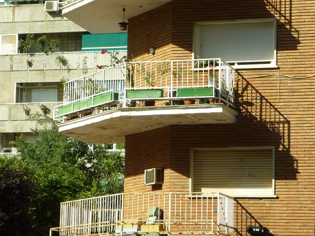 Free balcony cantilever handrail viewpoint terrace