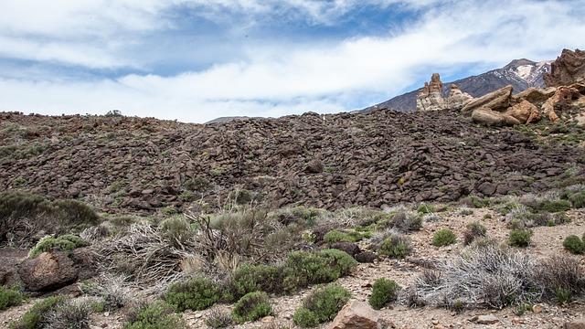Free nature volcano pico del teide