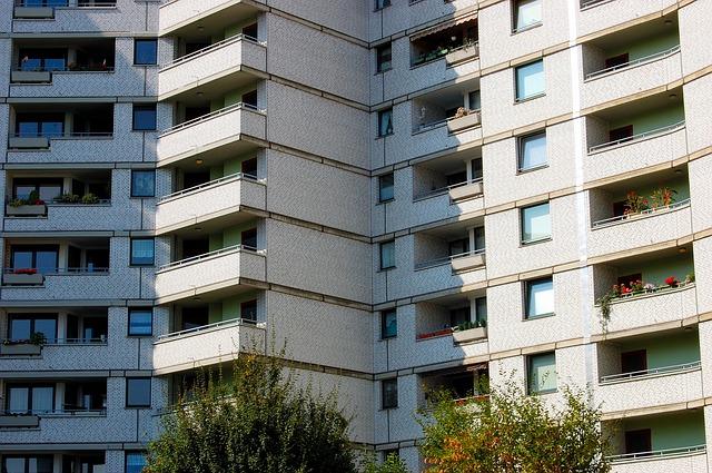 Free skyscraper gate balcony gelsenkirchen