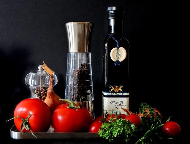 Free               mediterranean food tomatoes red eat cook