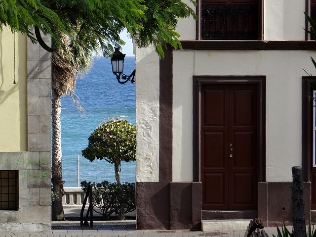 Free la palma capital santa cruz spain alley sea