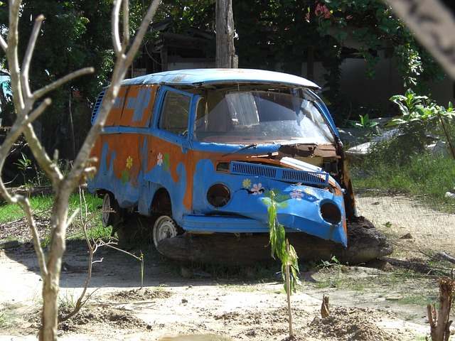Free vw bus volkswagen camper camping bus old scrap
