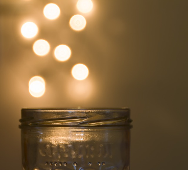 Free bokeh glass light background points abstract