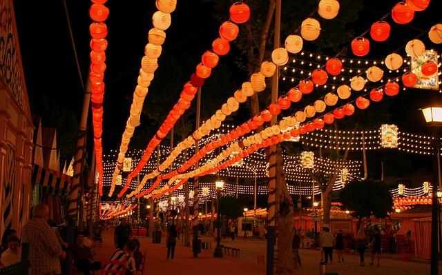 Free light garland garland lights string lights seville