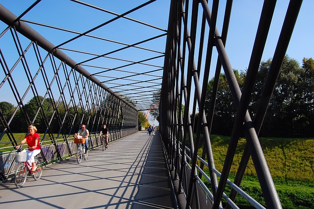 Free nordsternpark bridge gelsenkirchen buga ruhr area