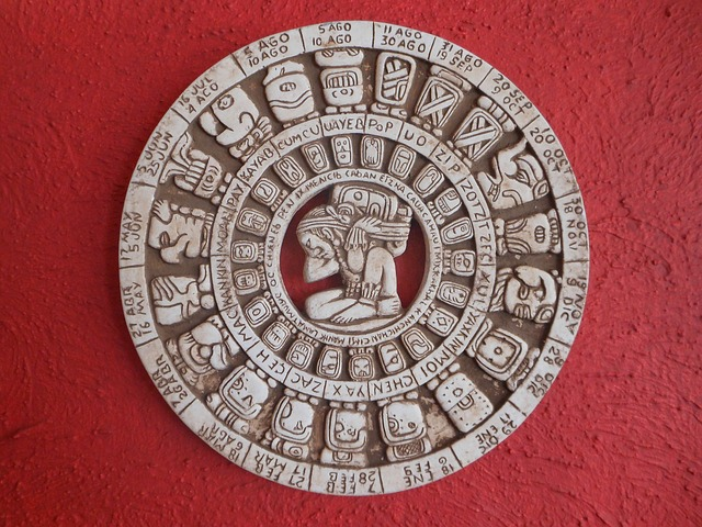 Free crafts red calendar mexican