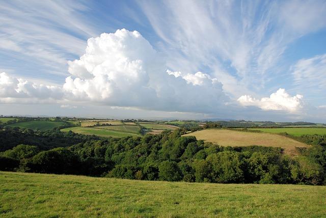 Free sky summer clouds landscape england