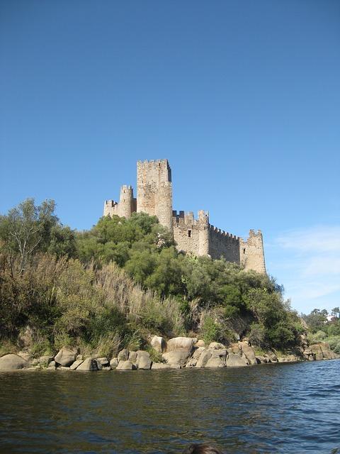 Free portugal almourol castle historic