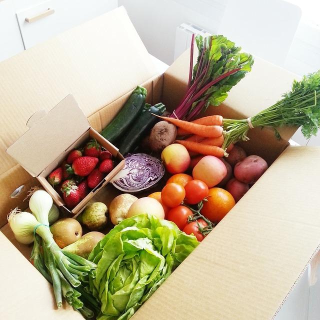 Free vegetables fruit tomato vegetable carrot