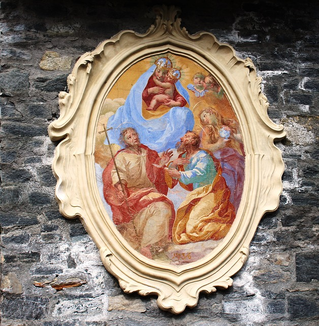 Free icon 1736 sacred art outline decorated masonry