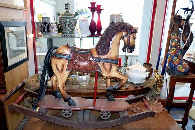 Free rocking horse historically antiques altwaren