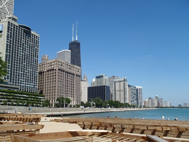 Free skyline chicago illinois willis sears tower