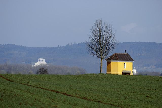 Free walhalla regensburg chapel tree field