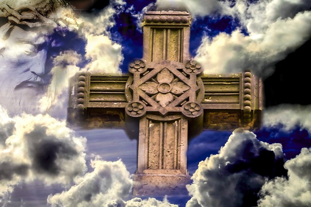 Free clouds christianity cross sign of the cross holy