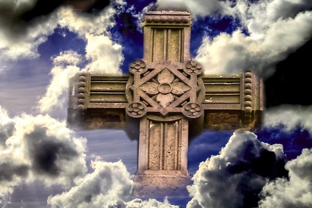 Free Photos: Clouds christianity cross sign of the cross holy | kai Stachowiak