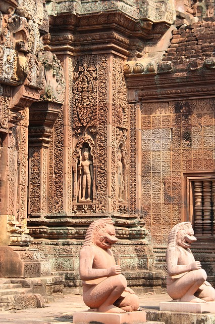 Free angkor wat temple cambodia banteay srei