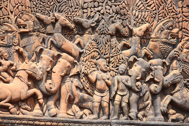 Free angkor wat temple cambodia banteay srei