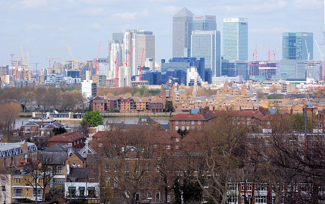 Free greenwich england great britain skyline