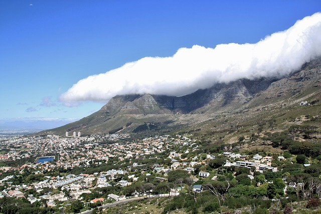 Free cape town table mountain south africa africa vision