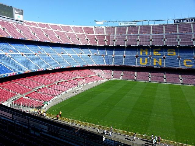 Free football stadium barcelona camp nou sport stadium