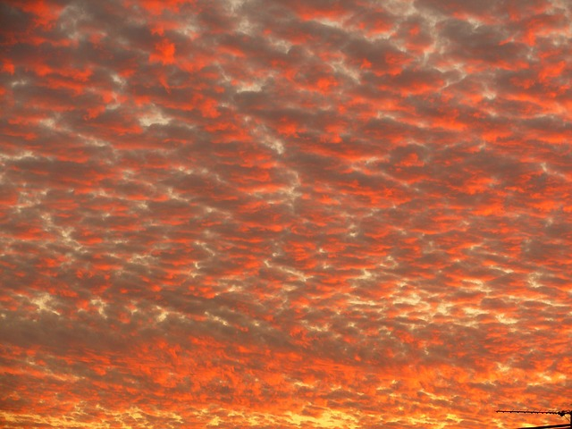 Free clouds sunset red sun sky evening sky mood