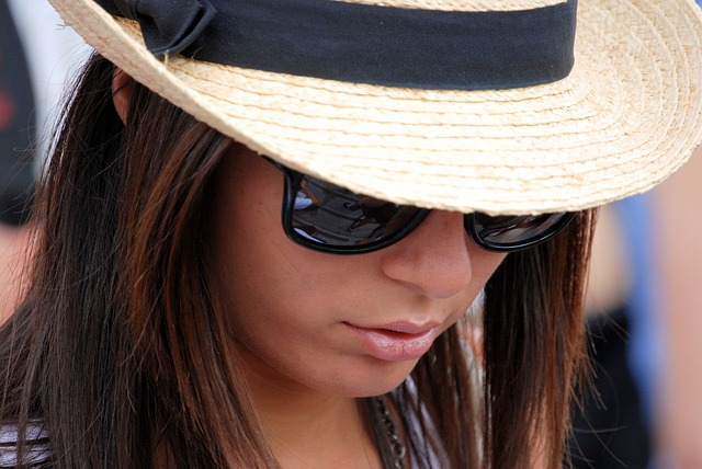 Free girl woman hat clothing sun glasses fashion