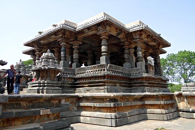 Free temple kedareshwara hindu halebidu