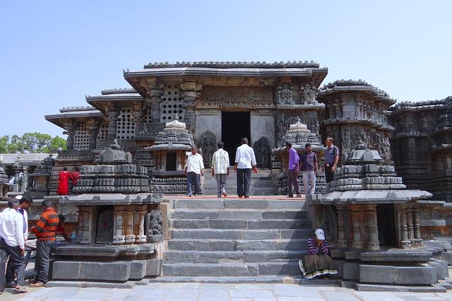 Free temple hindu halebidu hoysala architecture religion