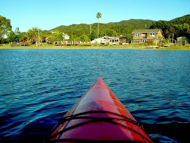 Free kayak creek water nature