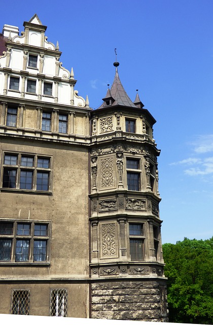 Free castle the palace scrotum poland monument towers