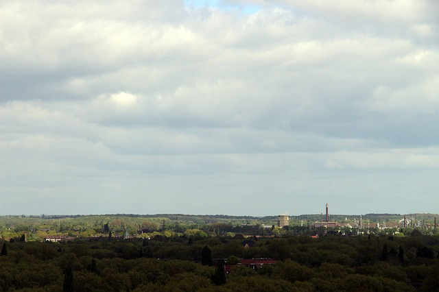 Free outlook ruhr area vision overview view clouds