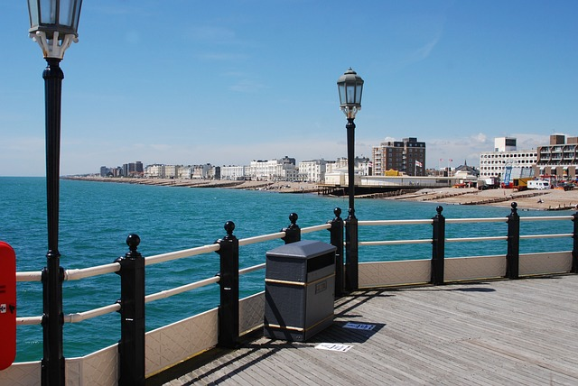 Free pier sea sea view worthing holiday