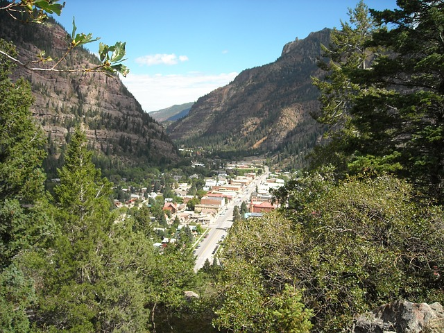 Free ouray colorado mountains valley scenic rockies